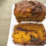 Pumpkin Butterscotch Nutella Bread