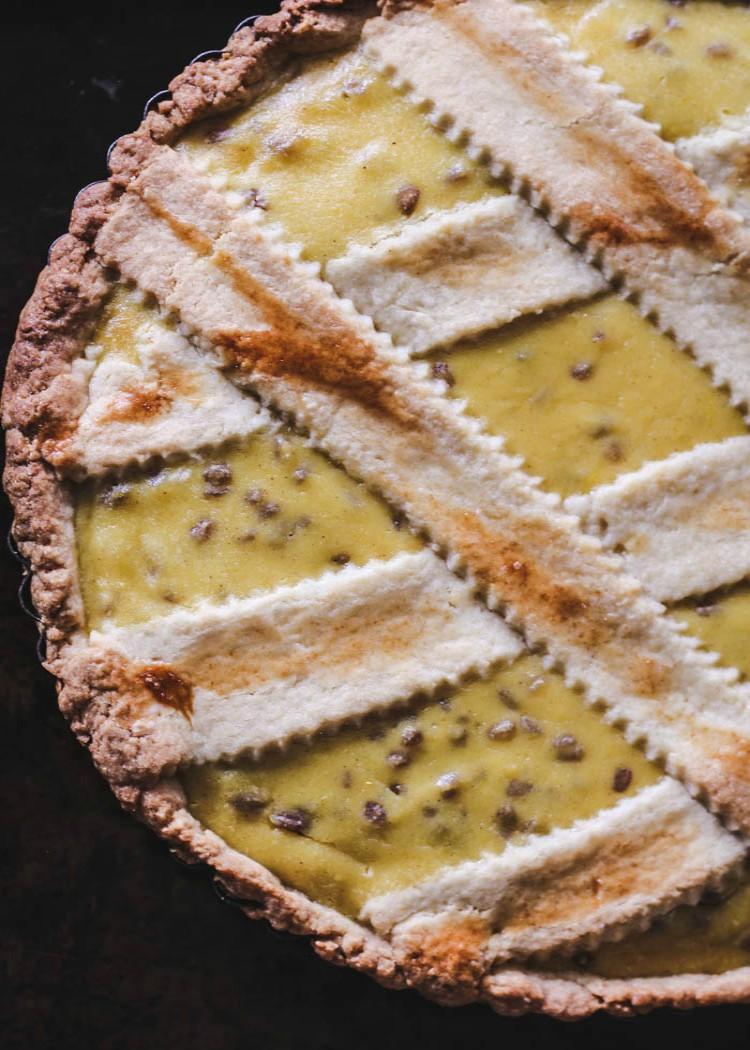 italian grain pie
