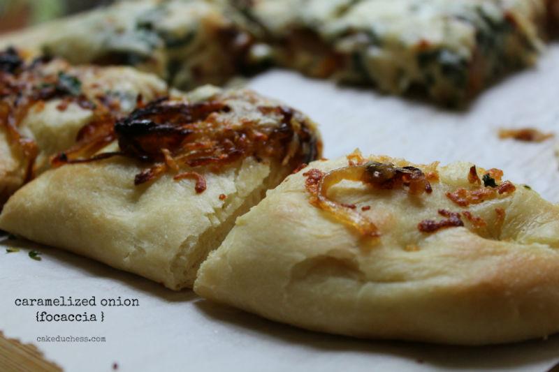 Caramelized Vidalia Onion Focaccia