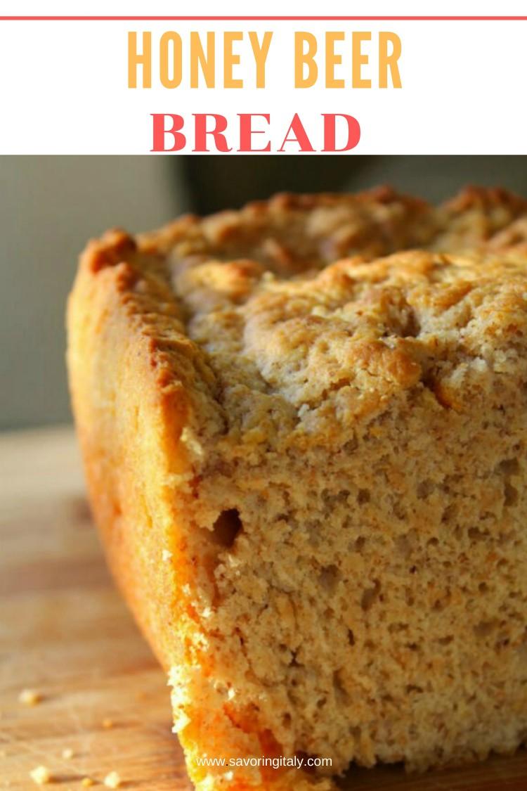 image of beer bread sliced open