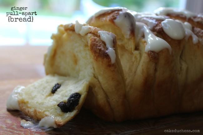 ginger pull apart bread cakeduchess