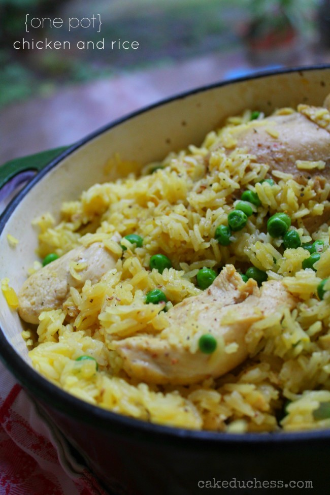 Very Easy One Pot Chicken and Rice