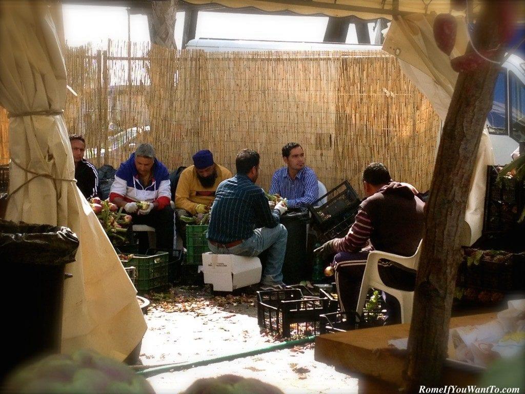 Artichoke Festival in Italy-Sagra del Carciofo
