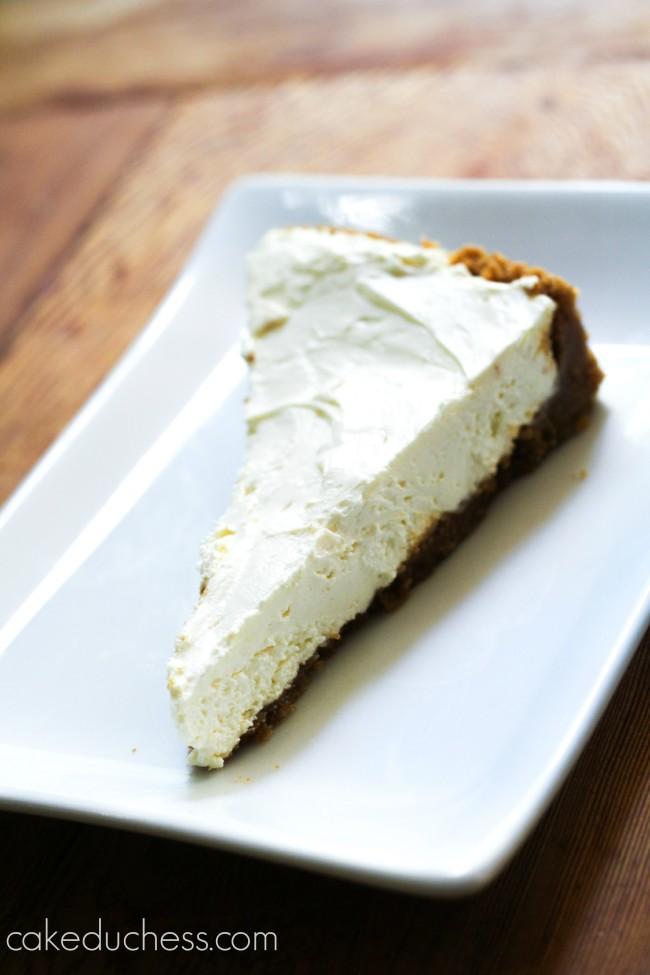 no-bake limoncello cheesecake