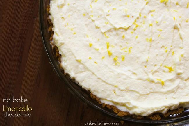 no-bake limoncello cheesecake   Cake Duchess