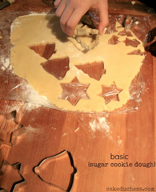 Basic Sugar Cookie Dough Recipe