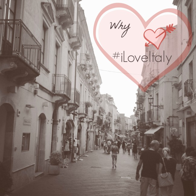 Top Italy Bloggers Share Why #iLoveItaly!