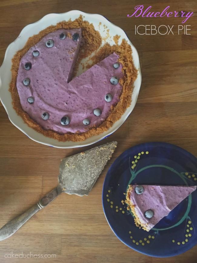 Blueberry Icebox Pie