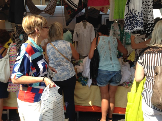 A Visit to the Mercato in Italy