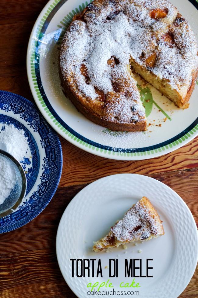 Torta di Mele-Apple Cake