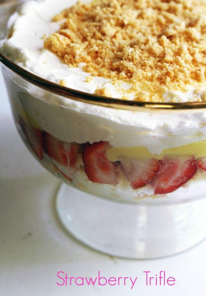 Strawberry and Amaretti Cookie trfile