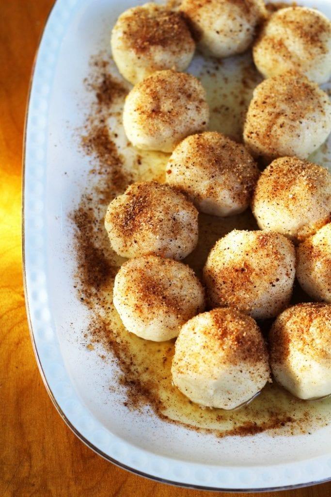 Plum Gnocchi-Gnocchi di Susine