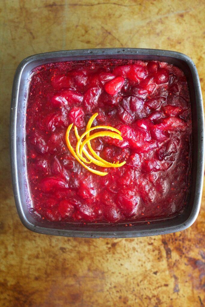 Negroni Cranberry Sauce