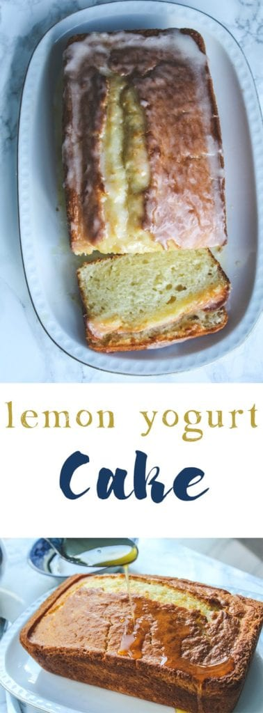 This lemon yogurt cake with its super moist, bursting with lemony flavor and a delicate crumb. Pair it with a good cup of coffee and you've got the start to a great day. #baking #cake #lemonyogurtcake #lemoncake #italiancake #breakfast #coffeecake #bundtcake #dessert #teacake #afternoontea #snackcake #citrus #lemondessert