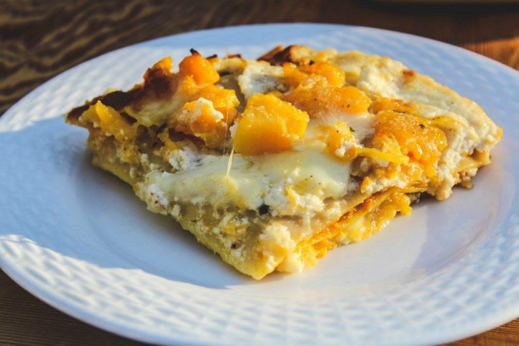 image of slice of lasagna