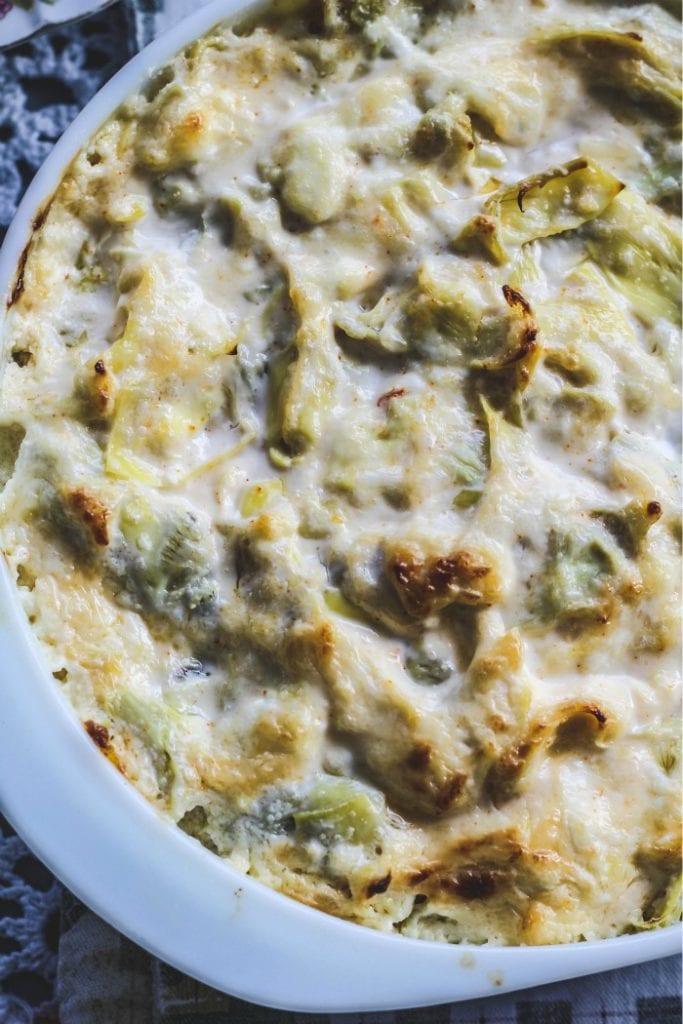 Hot and Cheesy Artichoke Dip