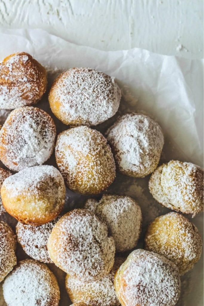 Castagnole-Fried Sweet Dough Balls