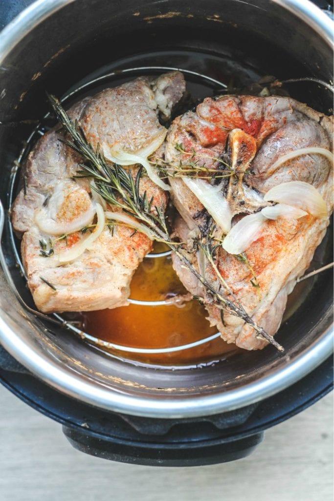 italian pork roast in an instant pot