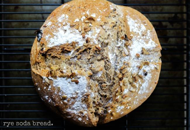 Rye Soda Bread
