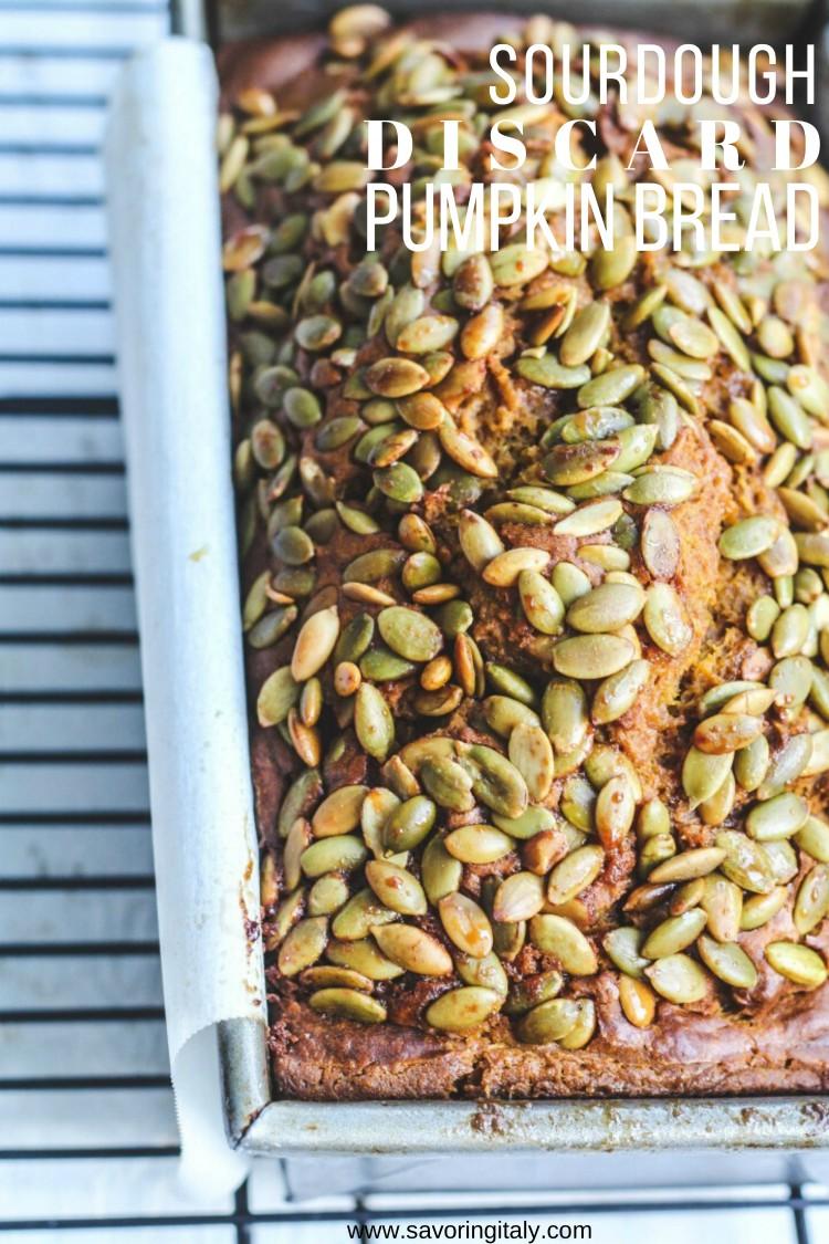 overhead shot of loaf seeded loaf of bread