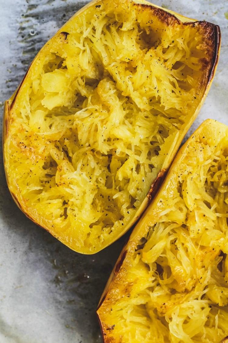 image of baked squash