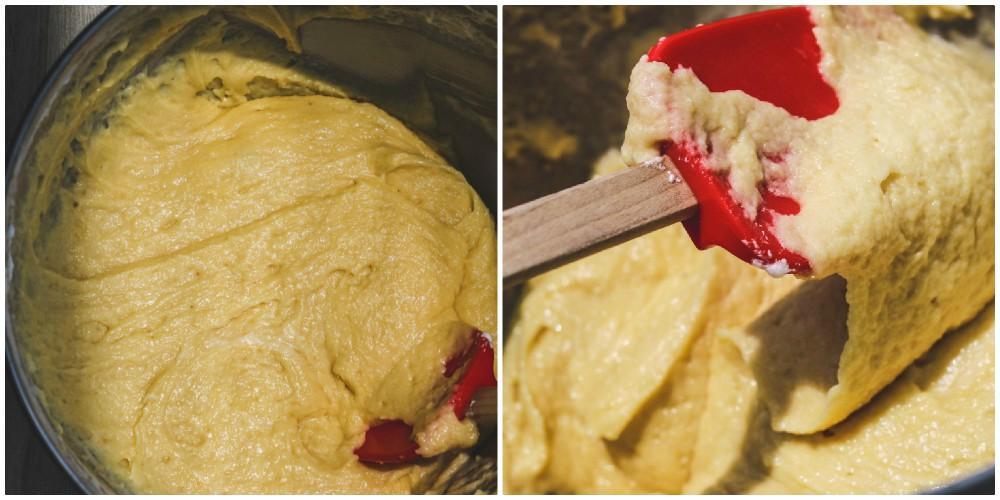 overhead image of cookie dough
