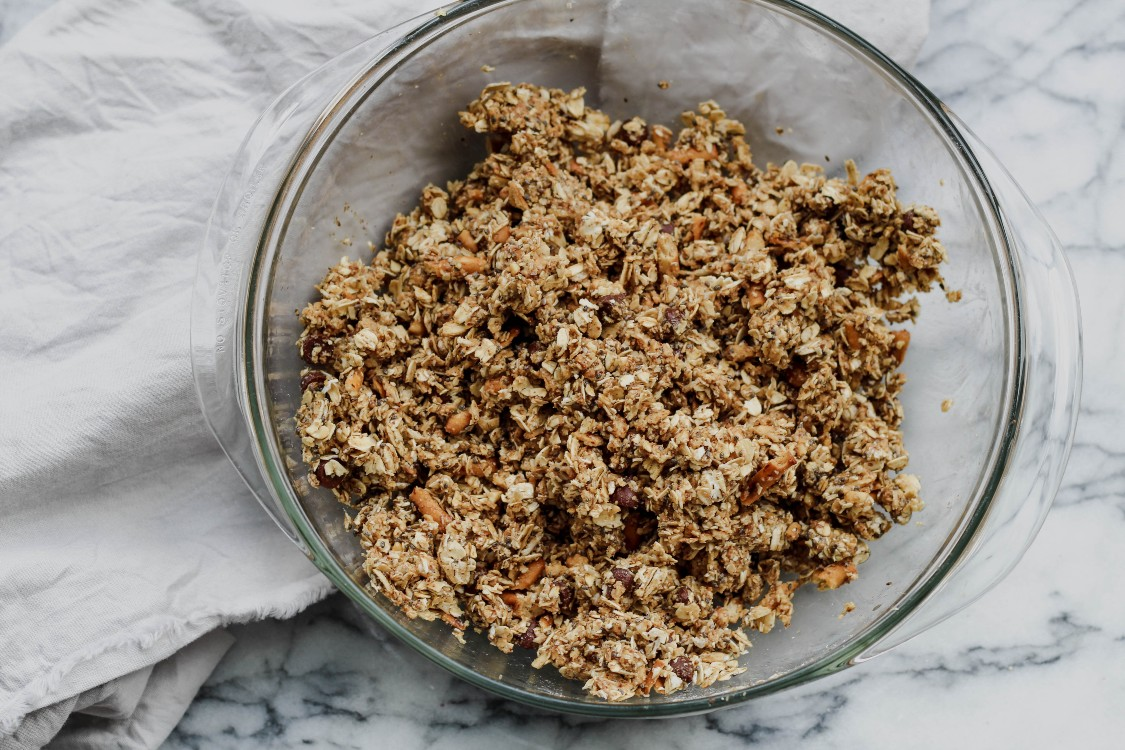 image of making peanut butter and pretzel bites
